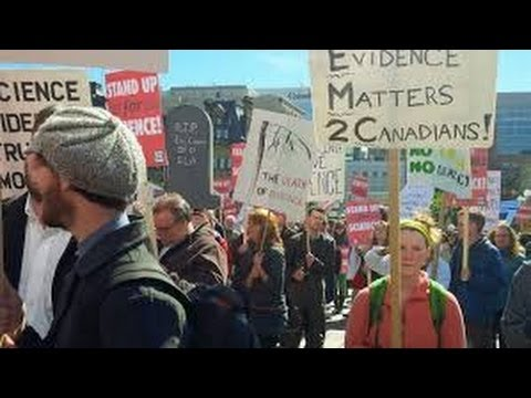Scientists stand up to Government of Canada