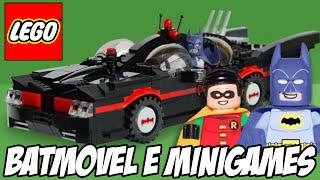 Lego Batman 3 - Batmóvel e Minigames