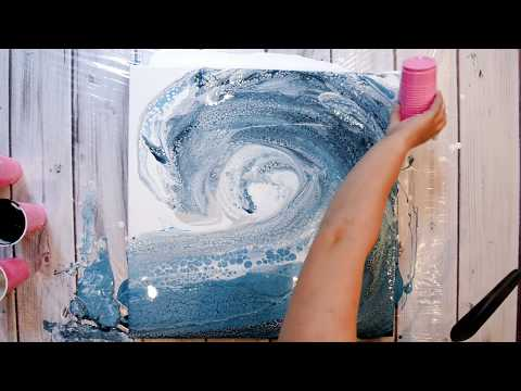 """(56) LARGE OCEAN WAVE on 24x24"""" Canvas!!! Super Pretty ;)"""