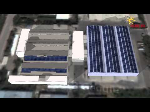 Levent 500KW PV System 3D Presentation