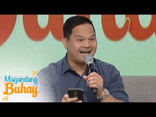 """Magandang Buhay: Bayani makes a poem for """"Magandang Buhay"""""""