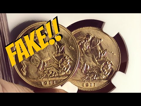 FAKE Gold Sovereigns