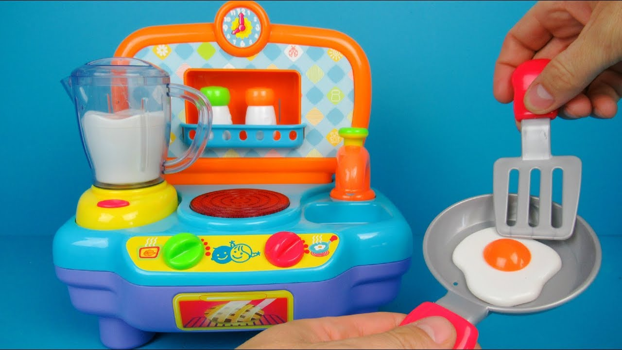 My First Kitchen By Play Go Toy Unboxing And Review