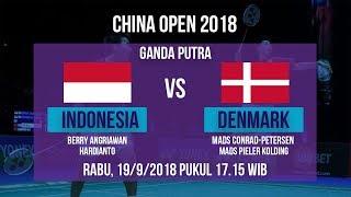 Jadwal Pertandingan Ganda Putra, Angriawan/Hardianto Vs Denmark, di China Open 2018 Pukul 17.15 WIB