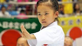 圧巻!空手少女、高野万優ちゃんの型 Mahiro Takano, Amazing Karate Girl thumbnail