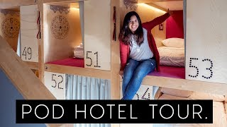 CANADA's FIRST POD HOTEL TOUR! Whistler, Canada
