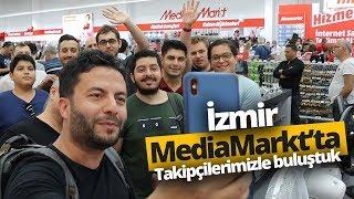 Takipçilerimizle İzmir'de buluştuk (vLog) - MediaMarkt Forum Bornova mağazasını açtık