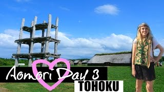 Aomori Day 3// Going back in time , Hirosaki Castle, tiny village, & oldest temple in Japan