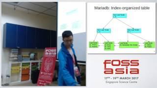 Two opensource RDBMS: mariadb vs postgresql - FOSSASIA 2017