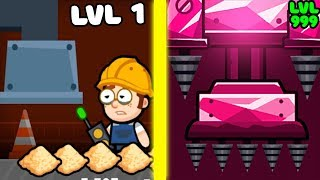 EVOLUTION OF FACTORY TO MAX FACTORY IN GAME FACTORY INC!