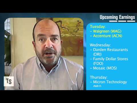 Investors Eye GDP Data; Earnings from Accenture, Family ...
