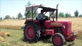 गेहूं काटने की नई ट्रैक्टर मशीन Wheat cutting new tractor machine