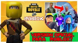 An official FORTNITE for roblox? Roblox news in Samymoro Spanish