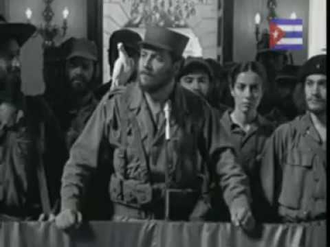"Film sobre  la ""Revolución cubana de 1959"""