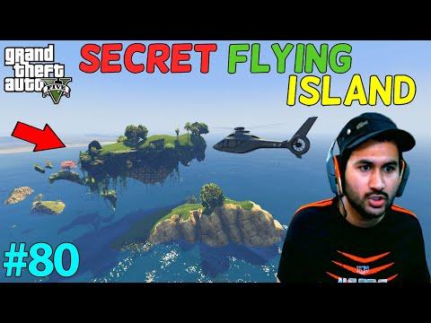 GTA 5 : I FOUND SECRET FLYING ISLAND | GTA5 GAMEPLAY #80
