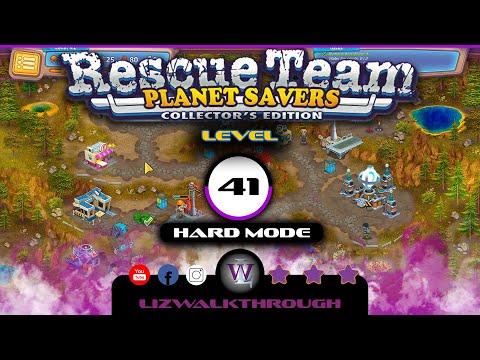 Rescue Team 11 - Level 41 Walkthrough (Planet Savers) |