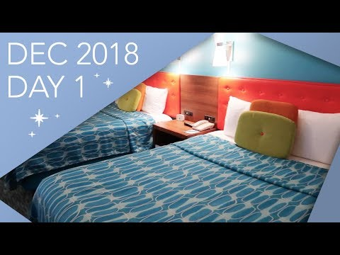 Travel Day & Cabana Bay   Florida Vlogs   December 2018   Adam Hattan