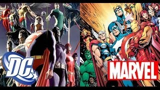 Comic Uno Marvel or DC, Why Do We Have To Choose? (Topic Video)