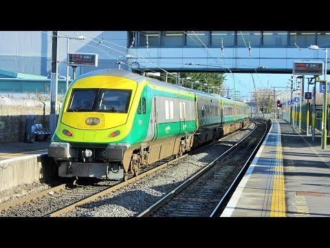 IE Mark 4 trial runs @ Connolly Station, Howth Junction & Raheny