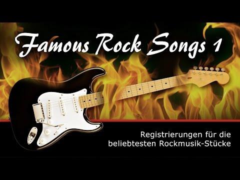 Famous Rock Songs 1 - Registrierungen für Tyros 5 und 4 von Soundwonderland