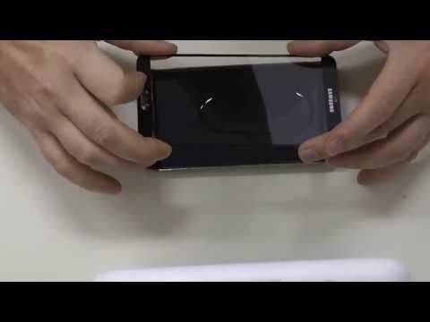 Samsung Galaxy Note 3 Glas tauschen Touch reparieren mit Loca UV Kleber Deutsch