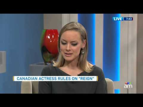 Rachel Skarsten making a royal splash in hit  'Reign'