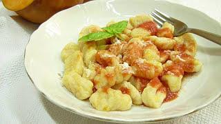 Тыква Рецепты. Вкусные Ньокки из Тыквы Итальянская Кухня #тыква #рецепты