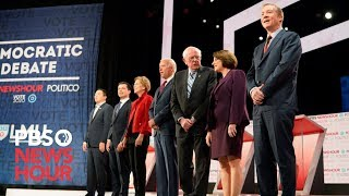 WATCH: All the key moments from the PBS NewsHour/POLITICO Democratic debate