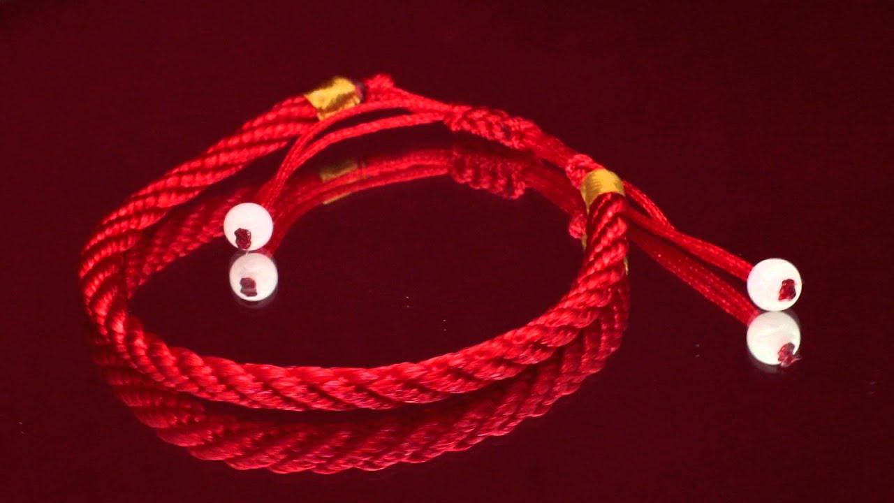 Красный браслет дружбы