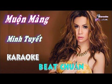 Muộn Màng (Minh Tuyết) – Karaoke minhvu822 || Beat Chuẩn 🎤