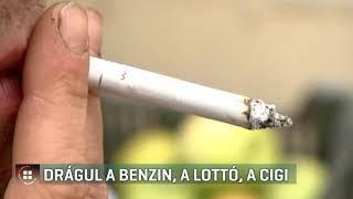 Drágul a benzin, a lottó, a cigi - 2020-01-01