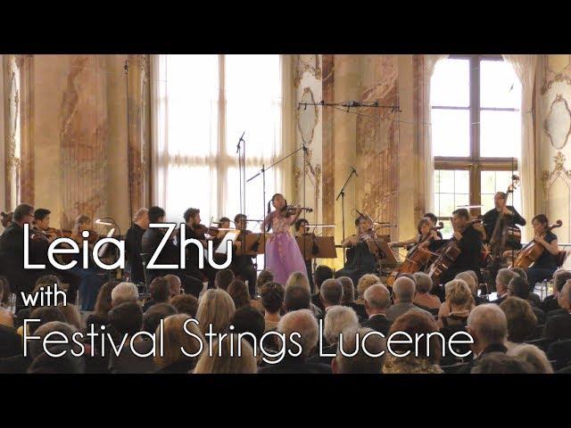 Deutschlandfunk Kultur Broadcasted Violinist Leia Zhu's Performance