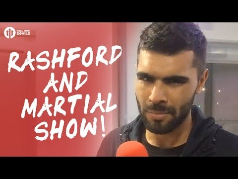 The Rashford & Martial Show! Manchester United 4-1 Burton Albion LIVE REVIEW