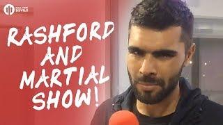 The Rashford & Martial Show! Manchester United 4-1 Burton Albion LIVE REVIEW