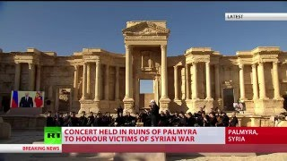 Praying for Palmyra: Russian orchestra performs concert honoring victims of Syria war