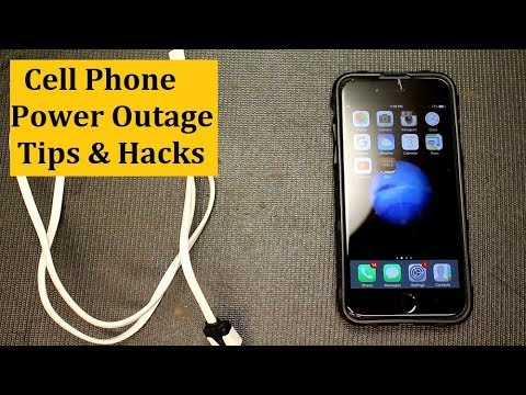Adrian Long - Cell Phone Power Outage Tips & Light Hacks
