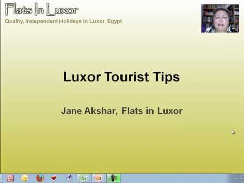 Hidden Luxor Travel Tips