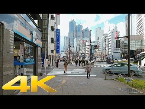 Walking around Yoyogi and Minami-Shinjuku, Tokyo - Long Take【東京・代々木/南新宿】 4K