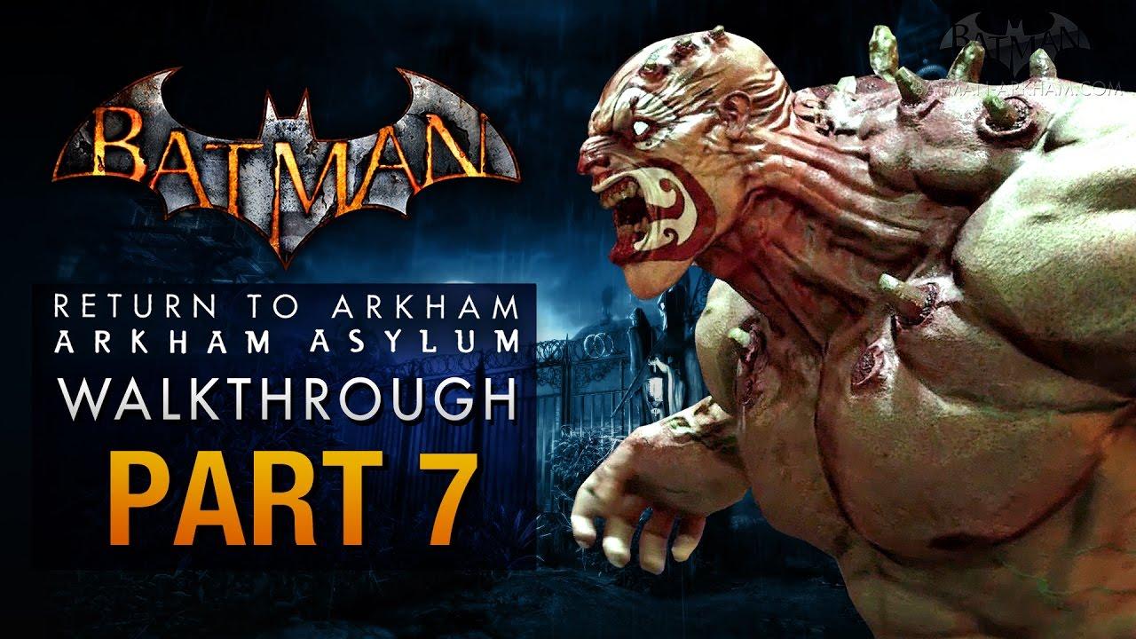 Download Batman: Return to Arkham Asylum Walkthrough - Part 7 - The Botanical Gardens