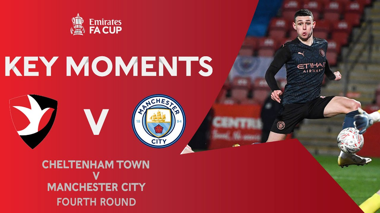 Cheltenham Town v Manchester City | Key Moments | Fourth Round | Emirates FA Cup 2020-21 - скачать с YouTube бесплатно