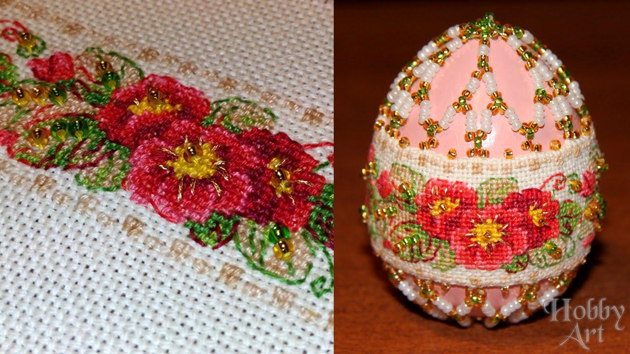 плетение из бисера схемы пасхалнего яйца