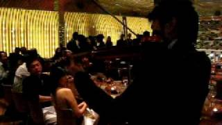 """I Just Wanna"" goes Anna Kournikova by Dennis Lau Violinist/ Songwriter feat. Jimmy Sax@ Lot 10. YTL"