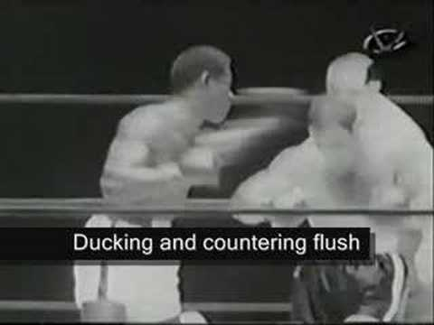 Rocky Marciano underrated defense highlight