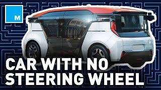 This Car Has NO STEERING WHEEL | Future Blink