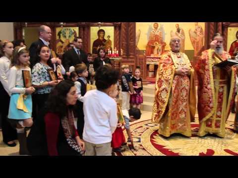 Sunday of Orthodoxy 2015 Holy Trans Marietta GA