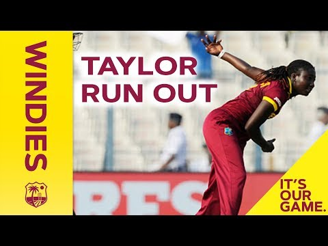 Stellar run out by Stafanie Taylor - #WIvsSA - 1st ODI