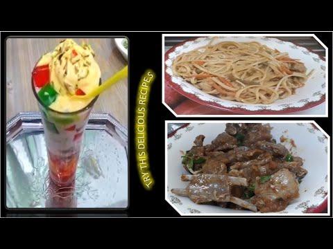 Peshawari Namkeen Gosht   Chicken Spaghetti   Instant Mango Falooda   blue sky kids tv