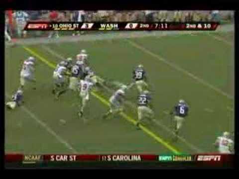 2007 Ohio State VS. Washington Highlight Video