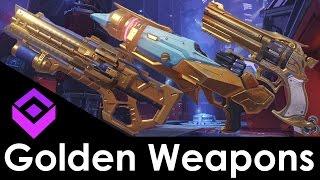 The Best Golden Weapons in Overwatch