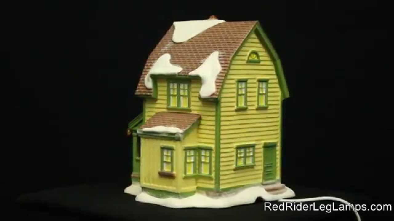 department 56 a christmas story village farkus house retired - A Christmas Story Village